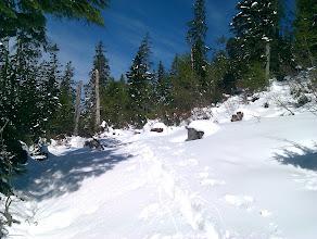 Photo: Wanderweg auf den Loser( 65cm Neuschnee 2Tage vor dem Start)