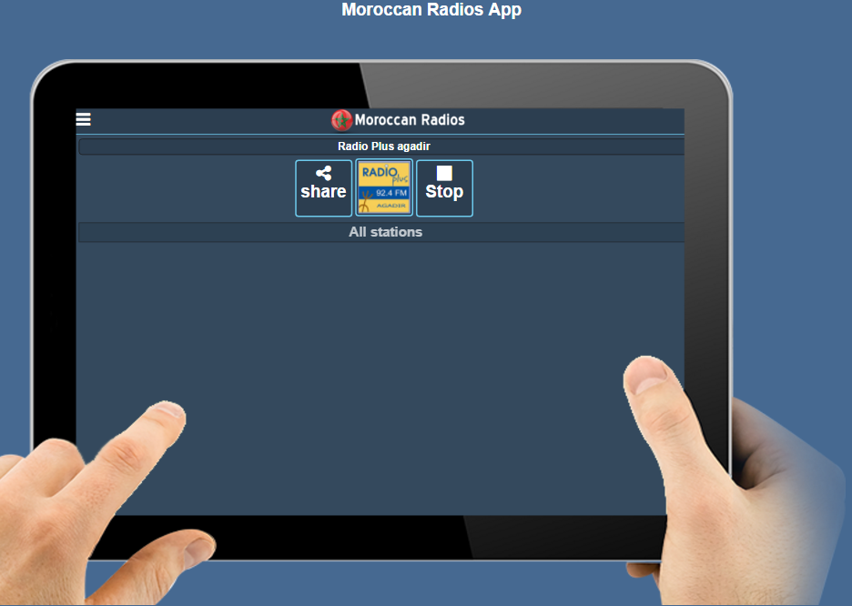 RL Morocco radios- screenshot