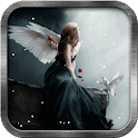 Snow Angel Live Wallpaper icon