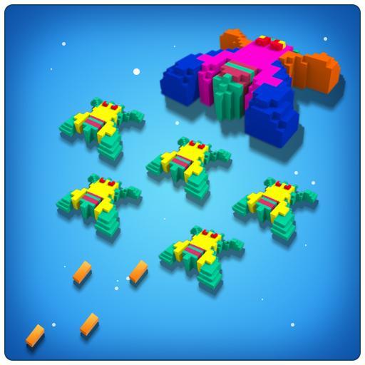 Worldcraft : Space invaders 3D 休閒 App LOGO-APP開箱王