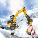 Offroad Snow Excavator Construction Simulator 2020 icon