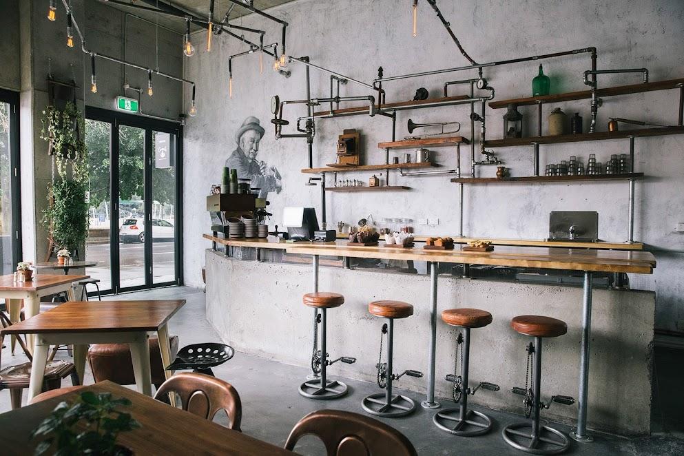 thiết kế quán cafe đẹp sài gòn tp hcm