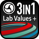 Lab Values + Medical Reference icon