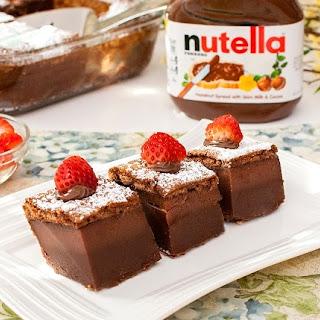 Nutella Magic Cake.