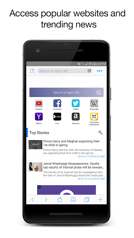 Web Browser - Star Browser screenshots