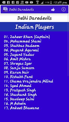 IPL 2018 Schedule 1.5 screenshots 4