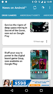News on Android™- screenshot thumbnail