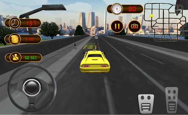 Modern Taxi Driver - screenshot