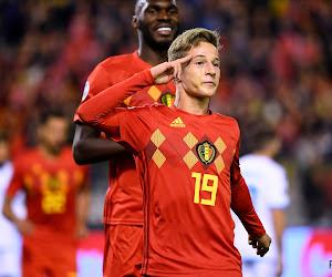 """Verschaeren scoorde zijn eerste voor Rode Duivels: """"Ik zei 'neenee', maar hij stopte de bal in mijn handen"""""""