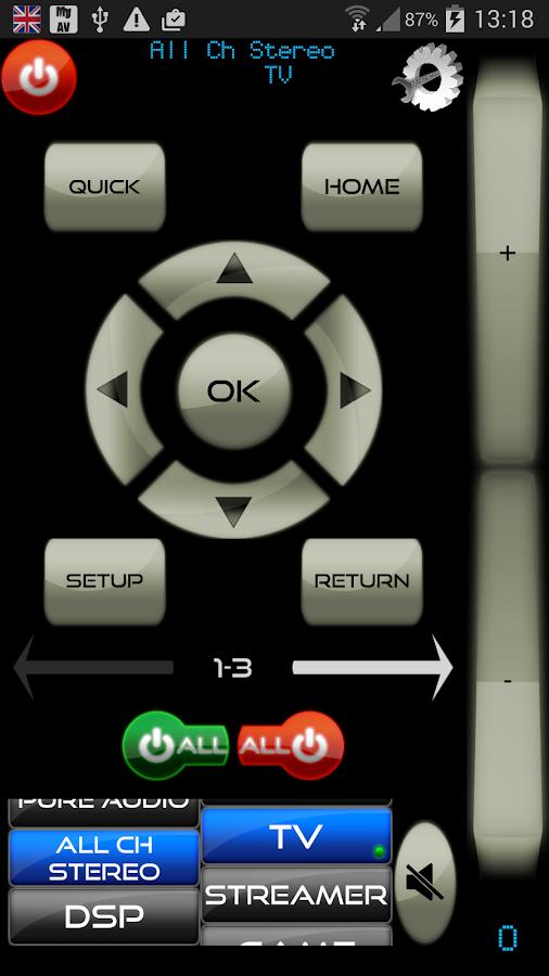 how to set up tv volume on pioneer av reciver