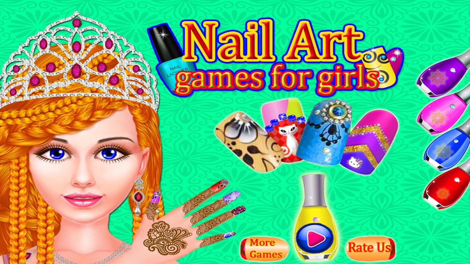 nail salon nail colouring u2013 nail manicure salon android apps