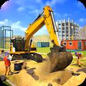 Sand Excavator Simulator 3D icon