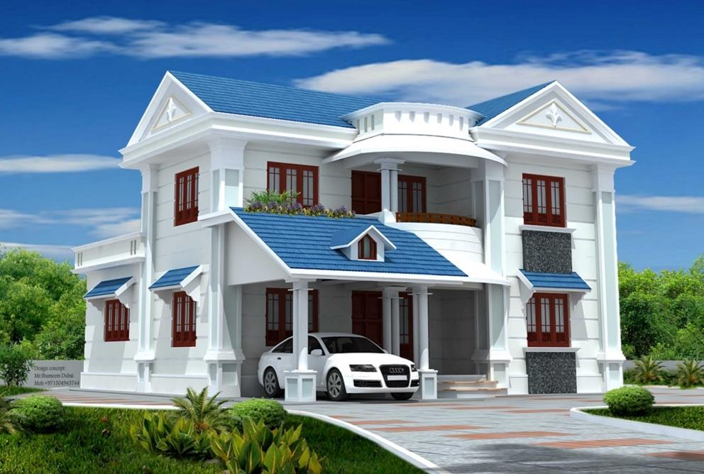 3d home exterior design screenshot - Home Exterior Designer