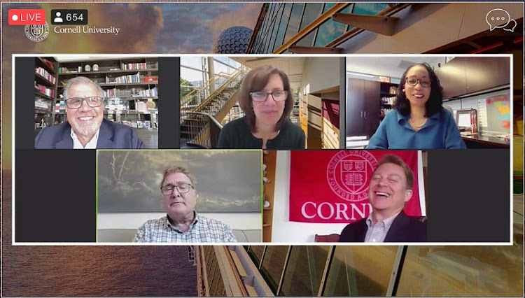 Participants in the eCornell webinar gave an upbeat assessment of the cruise industry's prospects.