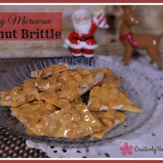Easy Peanut Brittle Candy Recipe for the Microwave