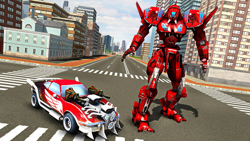 Robot Car War Transform Fight  screenshots 9