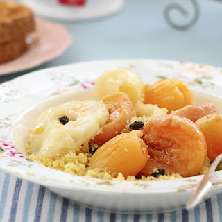 Sweet Couscous with Stewed Fruit Recipe