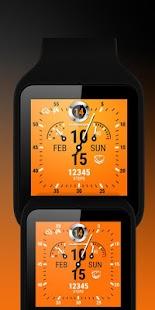 Watch Face Clockster Screenshot 3