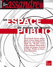 Photo: © Olivier Perrot Couverture Cassandre 68 www.horschamp.org