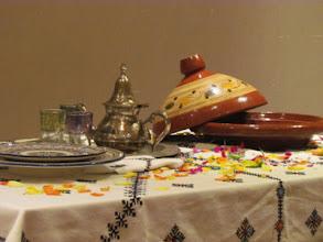 Photo: モロッコのテーブルコーディネート