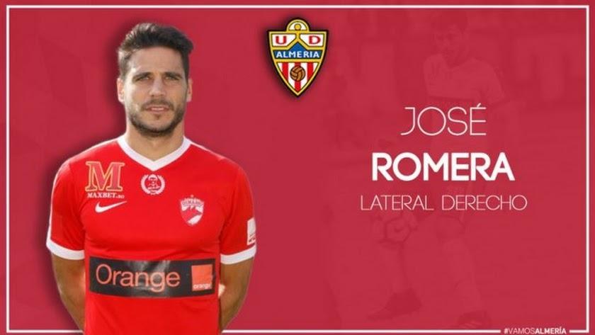 José Romera es el recambio de Marco Motta.