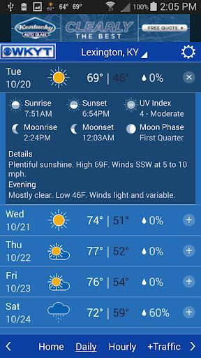 玩免費天氣APP|下載WKYT Weather+Traffic app不用錢|硬是要APP