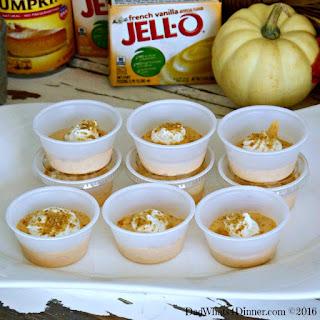 Pumpkin Pie Pudding Shots