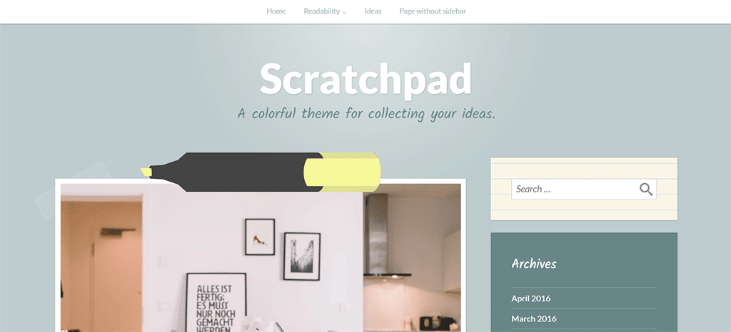 scratchpad plugin para blog wordpress