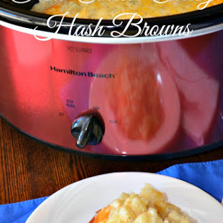 Crock-Pot Cheesy Hash Brown Casserole