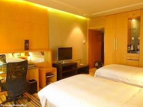 Photo: #005-La chambre de l'hôtel Hilton Beijing