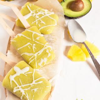 Tropical Avocado Popsicles Recipe