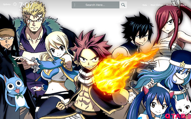 Fairy Tail Wallpapers HD Theme