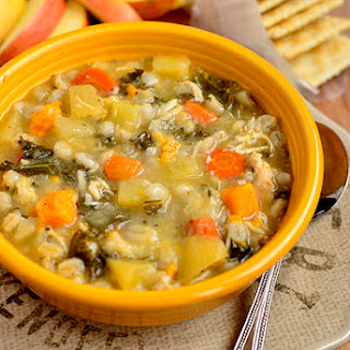 Crock Pot Chicken & Barley Vegetable Stew