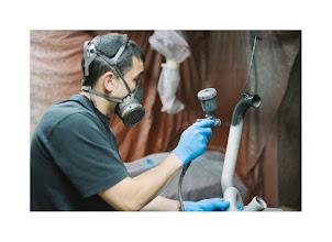 Photo: peinture céramique ab decometal