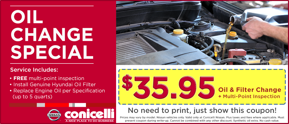 Cheapest Place To Get An Oil Change Near Me >> Get A Genuine Nissan Oil Filter Up To 5 Quarts Of Oil Plus