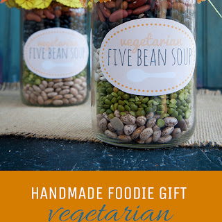 Vegetarian Five Bean Soup Mix.