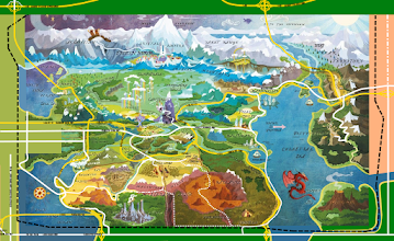 """Photo: (Jlong Cities Project) Equestria Map V2 [2/5/2016] *There is a 2017 V4 map to be posted soon* *THIS MAP IS OUTDATED - SEE CURRENT EQUESTRIA MAP IN THIS ALBUM*  In my """"world"""" in Jlong Cities Project Equestria (from MLP:FIM) in a country inside the US state of New York in the northeast area of New York State (about from Deposit, NY to Middletown, NY)  Outside the black dotted line is the USA. (New York State is on the left/right/top 