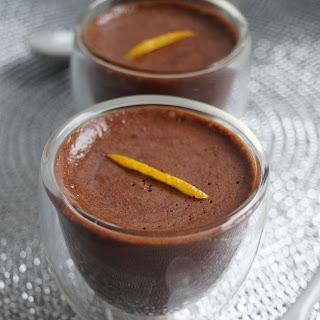 Vegan Orange Chocolate Mousse