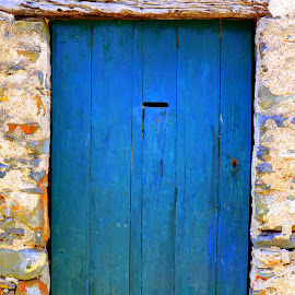 Blue by Gil Reis - Buildings & Architecture Other Exteriors ( doors, places, wood, colors, stone )