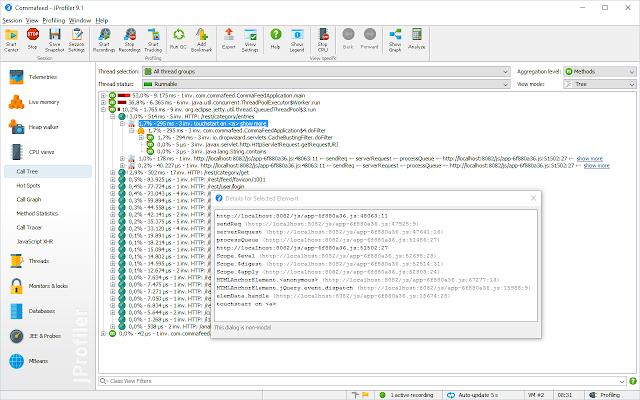 JProfiler Origin Tracker