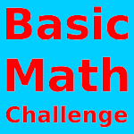Basic Math Challenge Icon
