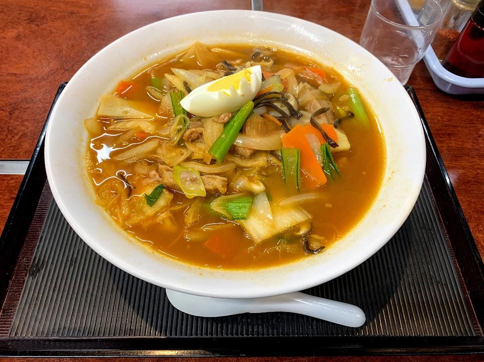 2020年四大麺5杯目 盛岡食堂 温麺