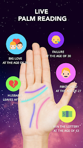 Astrology horoscope, palm reader, tarot: Astroline App Download For Android and iPhone 2