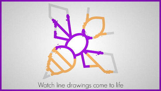 Lines - Physics Drawing Puzzle- screenshot thumbnail