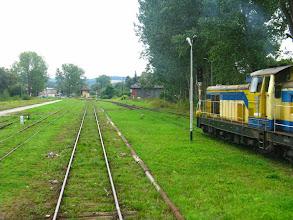 Photo: Kudowa Zdrój: Po prawej SU42-537 która pociągnie Kamieńczyka do Kłodzka.