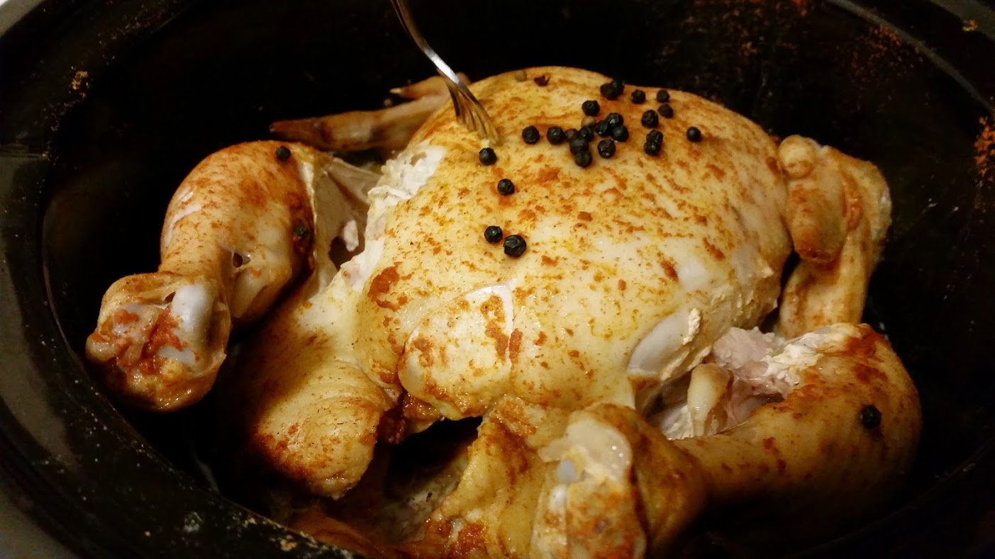 chicken in slow cooker