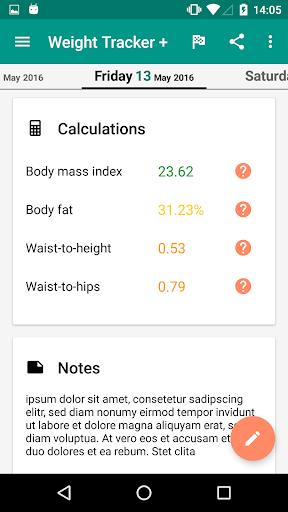 Weight Loss Tracker + screenshot 3