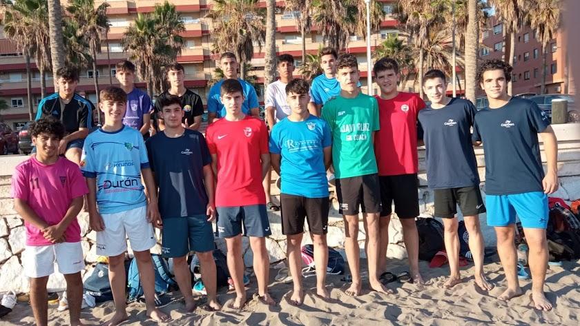 La Selección de Almería cadete se pone en forma en El Palmeral.