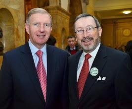 Photo: BBA President Paul Dacier and Leo Boyle (Meehan Boyle Black & Bogdanow).
