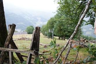 Photo: Descente le long des palombières